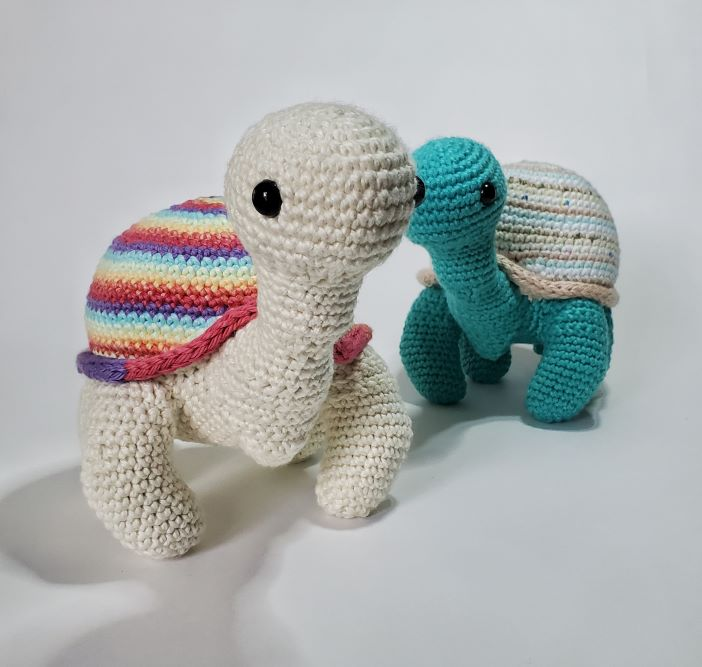 turtle image for free crochet pattern: sammie the turtle