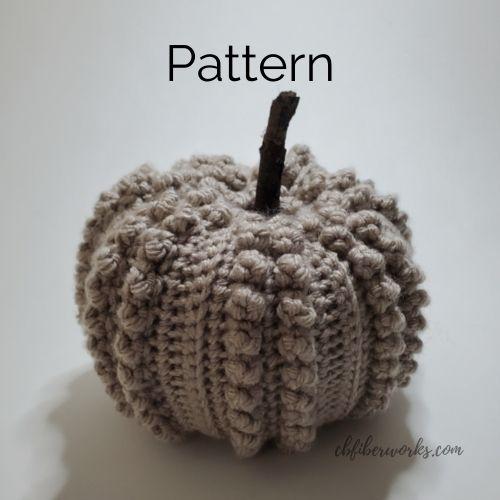 Free Crochet Pattern: Popcorn Pumpkin Pattern