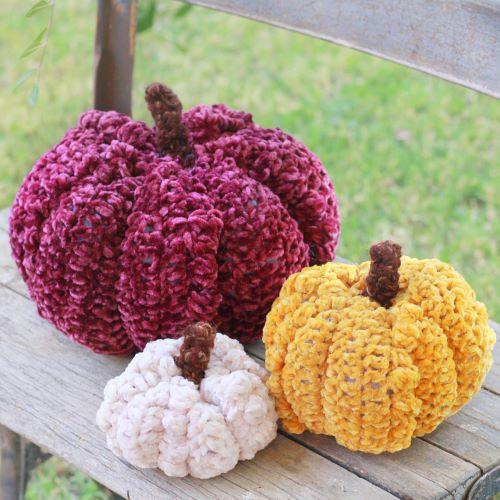 velvet bobble pumpkin for blog post