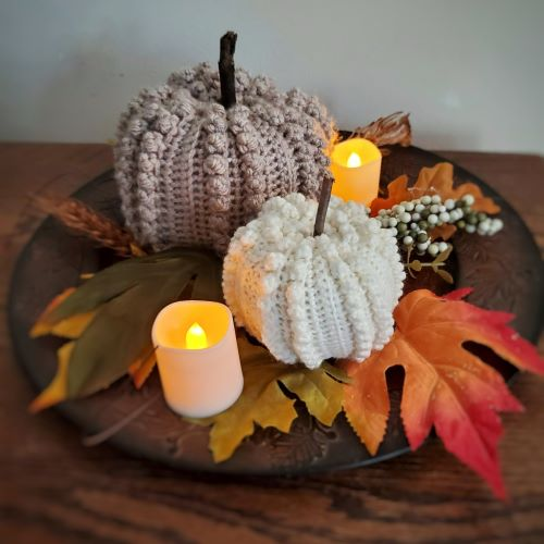 popcorn pumpkin for pumpkin palooza: 26 amazing pumpkin patterns