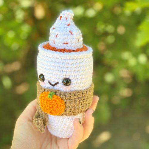 pumpkin spice latte for pumpkin palooza: 26 amazing pumpkin patterns