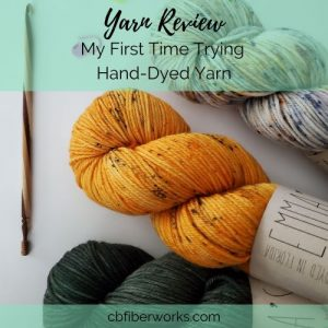 yarn image for my first time trying hand-dyed yarn and how it went
