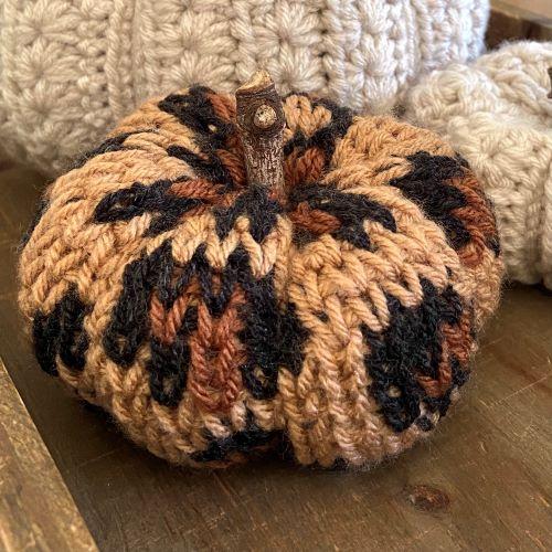 luxe leopard pumpkin for blog post